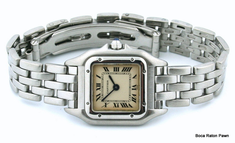 pre-owned cartier panther 2