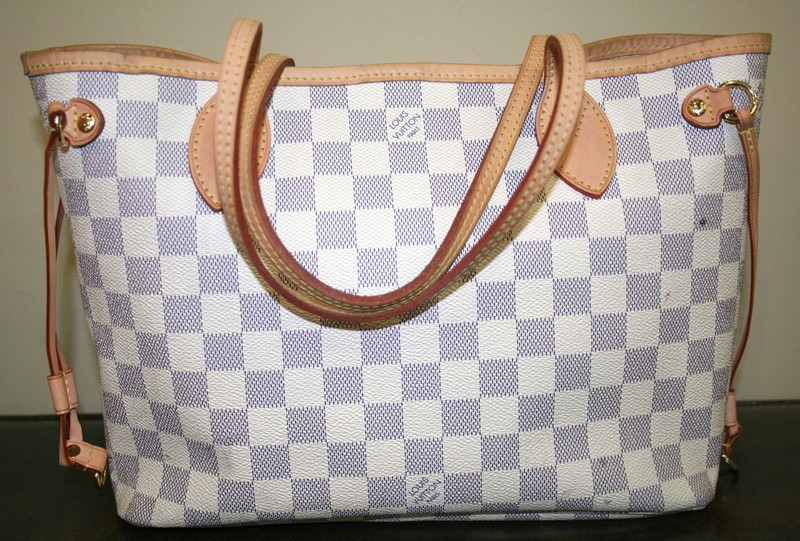 Louis Vuitton Neverfull Damier Handbag