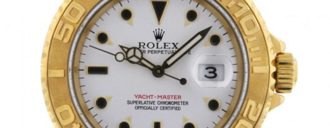 Rolex Yellow Gold Yachtmaster