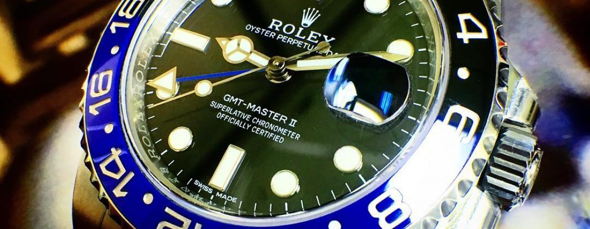 Rolex GMT II BLNR Batman