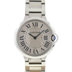 Cartier 3005 Ballon Bleu Midsize Stainless Steel Quartz Watch