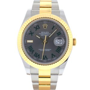 Rolex 116333 Datejust II 41 Two Tone Automatic Watch