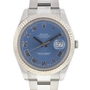 Rolex 116334 Datejust II Blue Dial Stainless Steel Automatic Watch