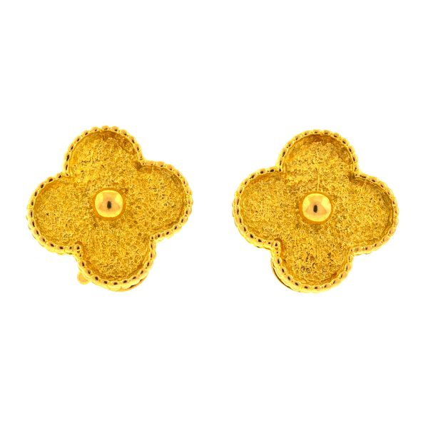 van cleef alhambra earrings