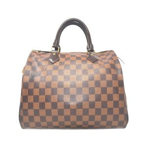 Louis Vuitton Speedy 30 Damier Ebene Handbag