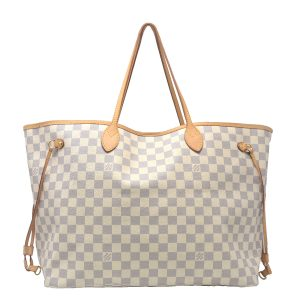 Louis Vuitton Neverfull GM Damier Azur Handbag