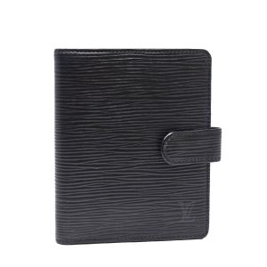 Louis Vuitton Black Epi Leather Bi-fold Wallet