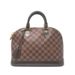Louis Vuitton Damier Ebene Alma PM Handbag