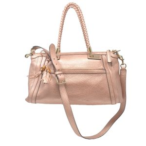 Gucci Bella Metalic Pink/ Rose Crossbody Handbag