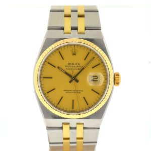 Rolex 17013 OysterquartzTwo-Tone Watch With Box and Papers
