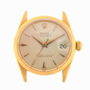 Rolex 6627 Vintage Gold Date Automatic Head Only Circa 1950