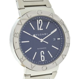 Bulgari BB 42 Sterling Silver Stainless Steel Automatic Watch
