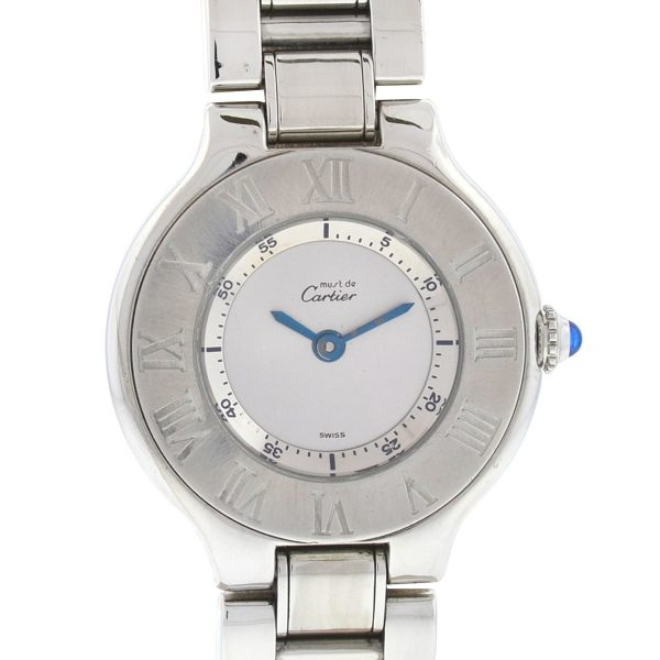 Cartier 1340 Must 21 Stainless Steel Ladies Watch