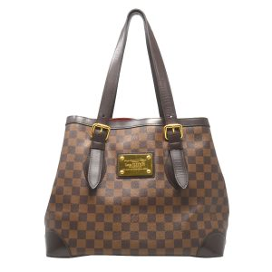 Louis Vuitton Hampstead MM Damier Ebene Canvas Shoulder Bag