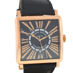 Franck Muller Master Square 18k Rose Gold Automatic Men's Watch