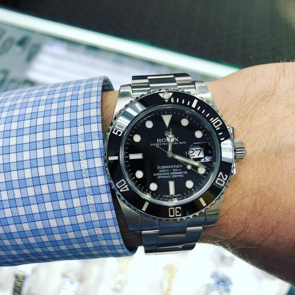 A Day on the Wrist with the Rolex Submariner 116610 , Boca