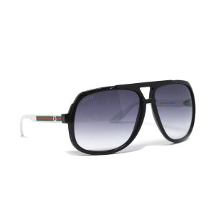 Gucci GG 1622/S Black and Whit Sunglasses
