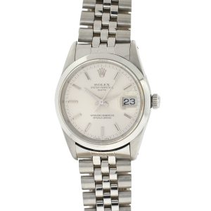 Rolex L622301 Datejust Stainless Steel Silver Dial Men's Watch