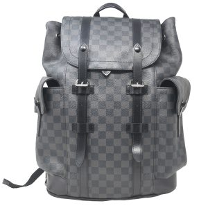Louis Vuitton Christopher PM Damier Graphite Canvas Backpack