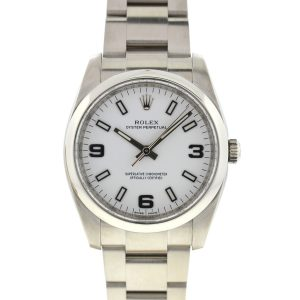 Rolex 114200 Oyster Perpetual Midsize Stainless Steel Automatic Watch