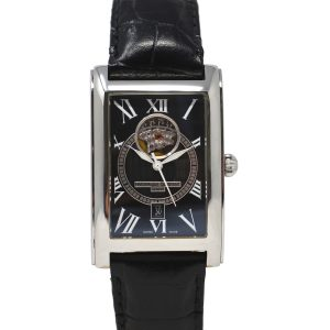 Frederique Constant Classics Carree Black Dial Automatic Mens Watch
