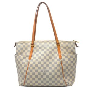 Louis Vuitton Totally MM  Damier Azur Shoulder Bag