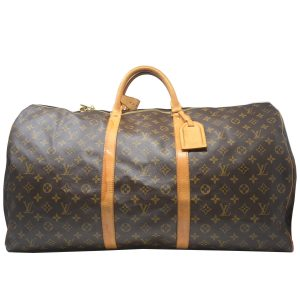 Louis Vuitton Keepall 60 Monogram Canvas Duffel Bag