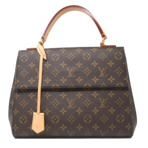 Louis Vuitton Cluny MM Monogram Canvas Crossbody Bag