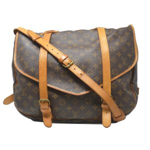 Louis Vuitton Saumur 43 GM Monogram Canvas Shoulder Bag