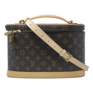 Louis Vuitton Nice Monogram Canvas Travel Case Shoulder Bag