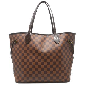 Louis Vuitton Neverfull MM Damier Ebene Canvas Tote