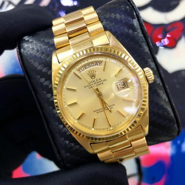 rolex president 1803 single quick boca raton