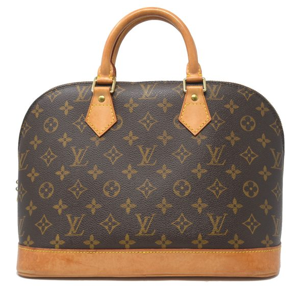 Louis Vuitton Alma PM Monogram Canvas Top Handle Handbag
