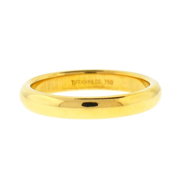 Tiffany & Co. 18k Yellow Gold Wedding Band Ring