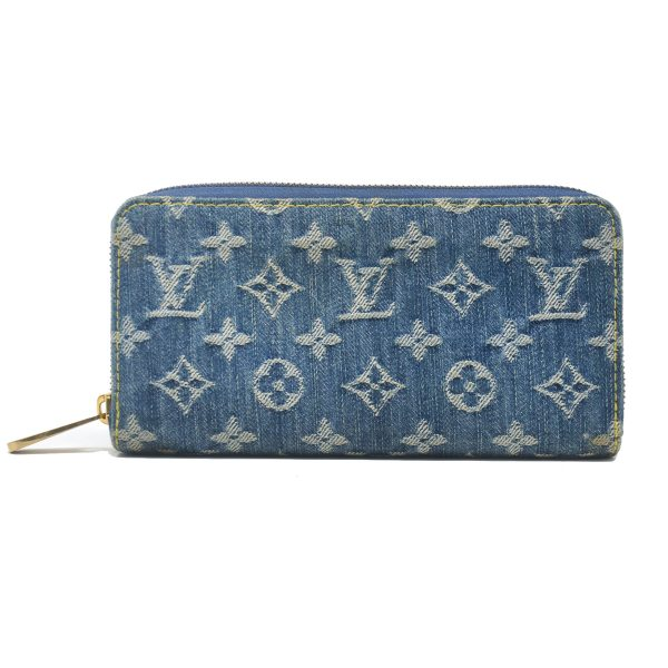 Louis Vuitton Denim Zippy Wallet