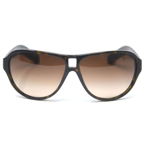 Chanel 5233 Tortoise Shell CC Brown Sunglasses