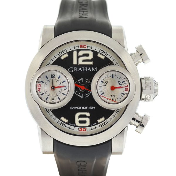 Graham Swordfish Chronograph Automatic Stainless Steel Men's Watch