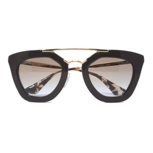 Prada SPR 09Q DHO/4S2 Brown Womens Sunglasses