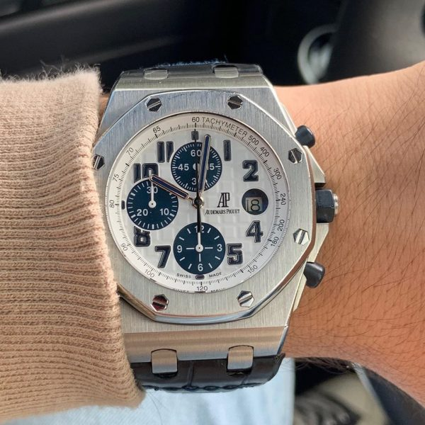 audemars navy royal oak offshore