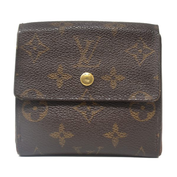 Louis Vuitton Monogram Canvas Double Sided Vintage Wallet