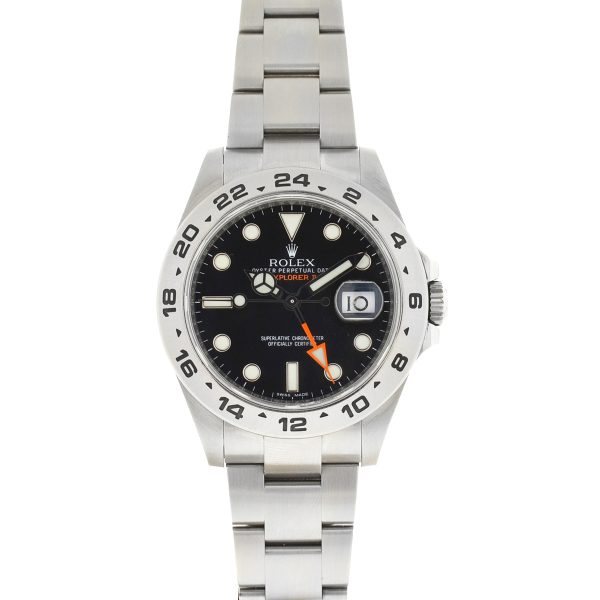 Rolex Explorer II Black Dial Stainless Steel Automatic Men's Watch