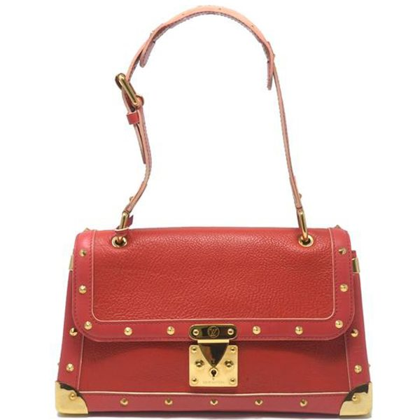Louis Vuitton Le Talentueux Suhali Red Leather Shoulder Bag
