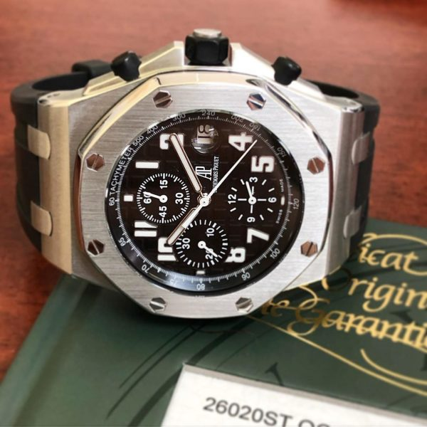audemars black themes offshore