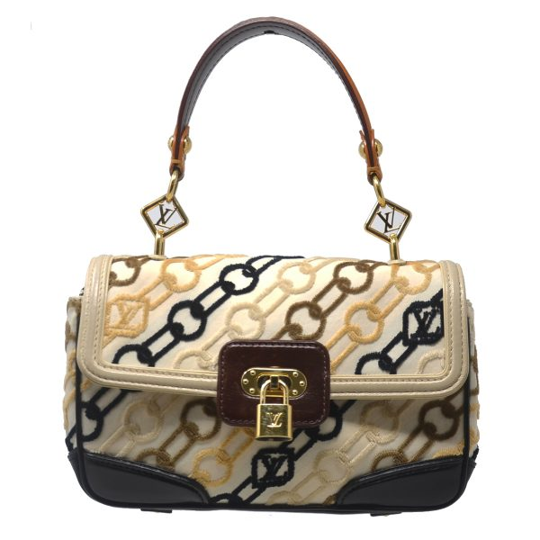 Louis Vuitton Rabat Pochette Dolly Velvet Chain Shoulder Bag