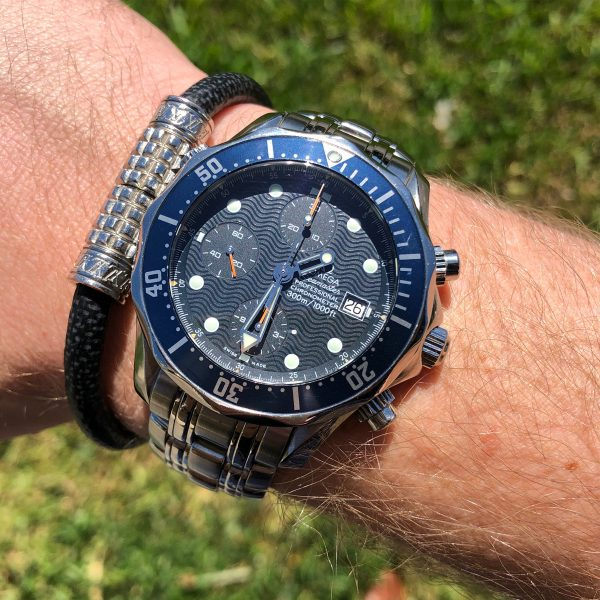 Omega Seamaster Professional Chronograph Blue Dial Automatic Men's Watch