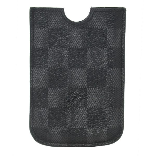 Louis Vuitton Etui Damier Graphite Canvas iPhone 3G Case