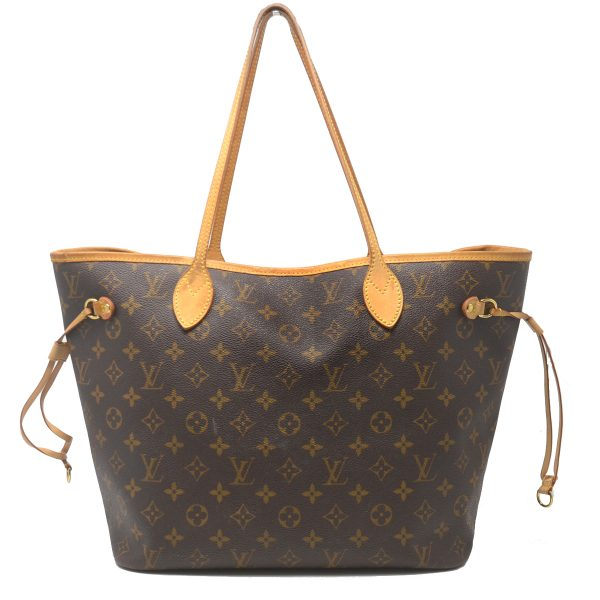 Louis Vuitton Neverfull MM Monogram Canvas Tote Shoulder Bag