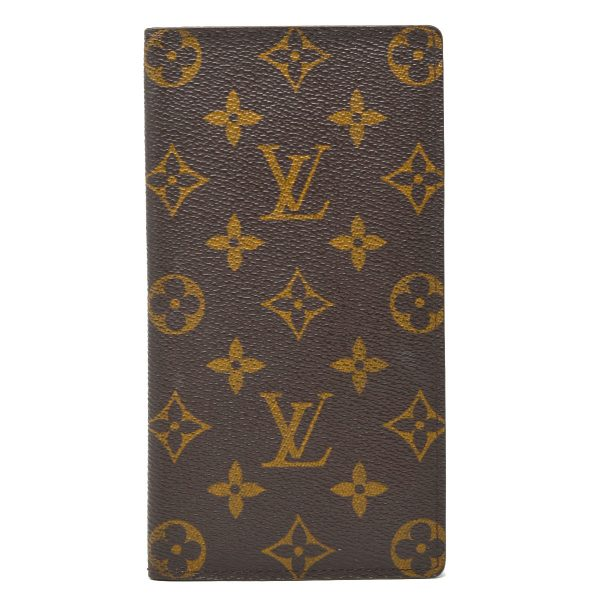 Louis Vuitton Monogram Canvas Checkbook Card Wallet