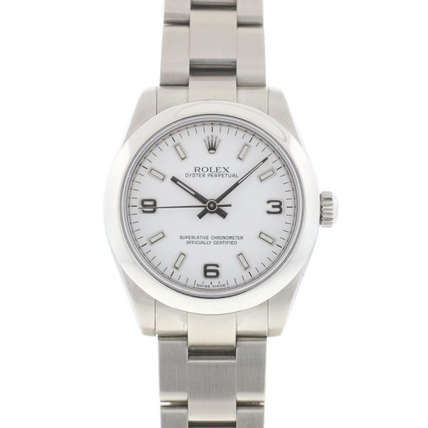 Rolex 177200 Oyster Perpetual Stainless Steel Ladies Watch