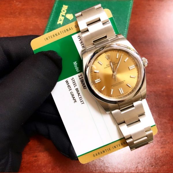 Rolex 116000 White Grape Watch